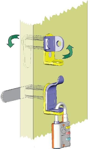 padlockable cam latch